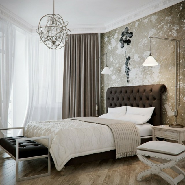 Chambre Moderne Mauve