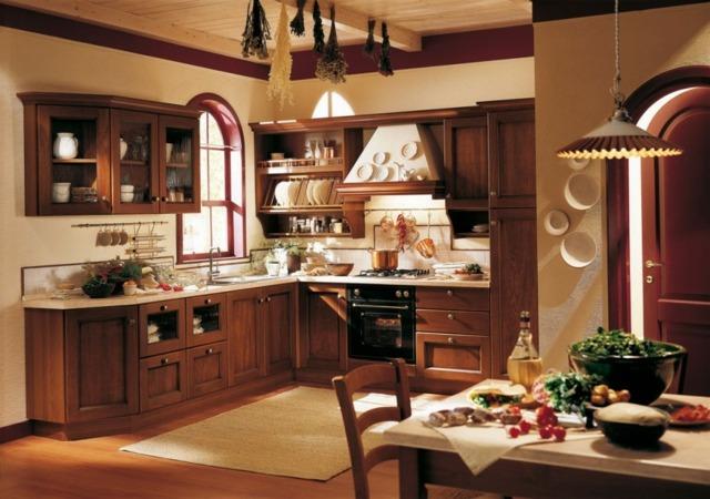 cuisine aménagée bois