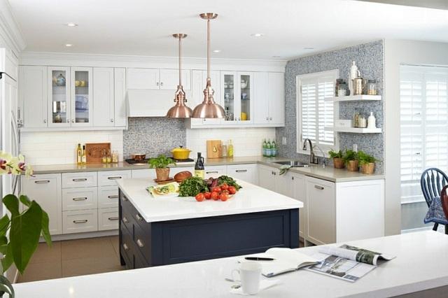 White Kitchen Color Schemes