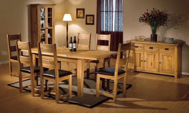 33 idees pour une salle a manger en bois