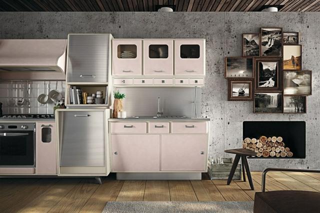Dco rtro  belle cuisine vintage par Kitchens from Marchi