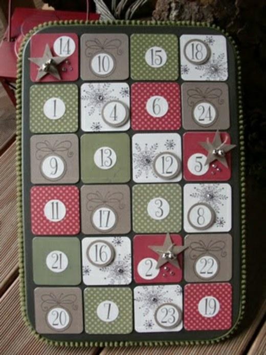 Calendrier de lAvent original 25 ides de bricolage de Nol