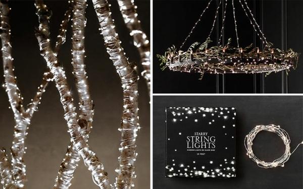 Guirlandes lumineuses de Nol 35 ides de dcoration facile