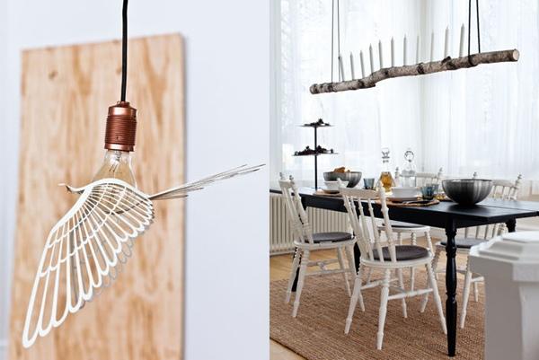 Ides de dco embellir notre espace lampes en bois DIY
