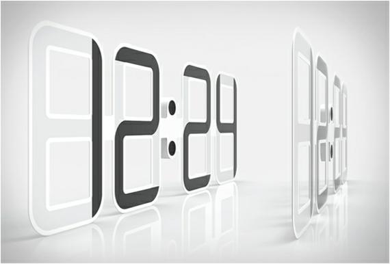Horloge Design Digital