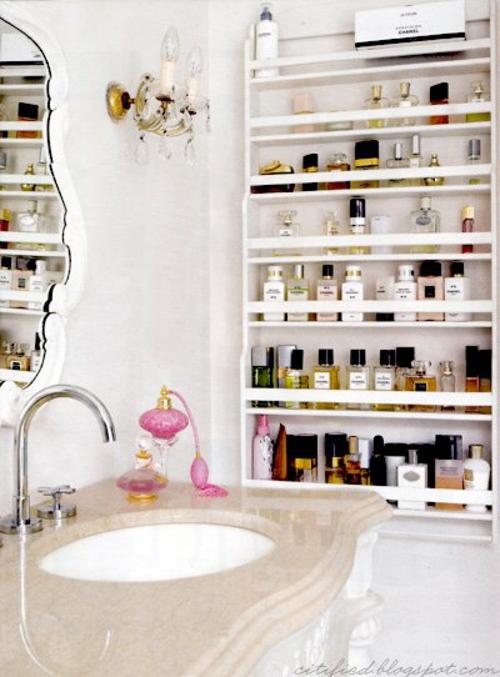 Le rangement salle de bain  ides et astuces