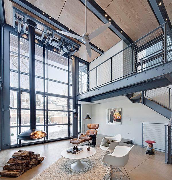 Chemine design  19 foyers dernier cri