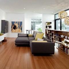 Living Rooms With Dark Grey Feature Walls End Table Ideas Room Décoration Intérieur - La Combinaison Gris Et Jaune, Le ...