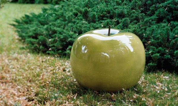 La pomme un objet de dco pour tous les dcors