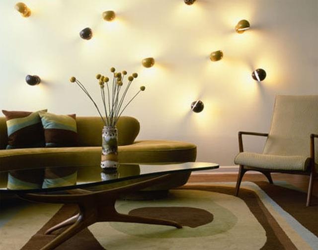 Lampe salon confort maximal dans espace  24 ides sympas