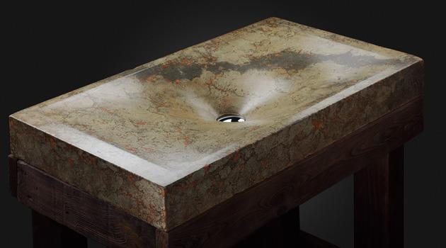 Les lavabos en bton contemporains de Pietra Danzare