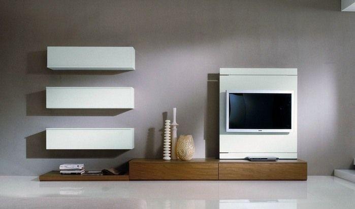 meuble tele dans le salon