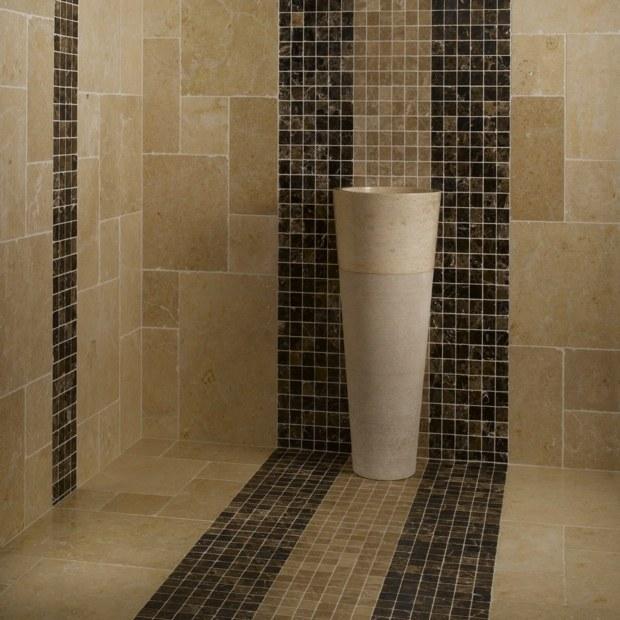 Le carrelage douche sous toutes ses couleurs