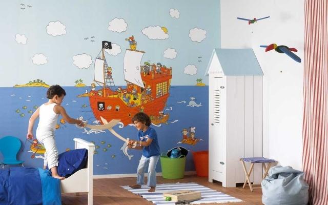 Papier peint enfant  quels motifs et couleurs choisir