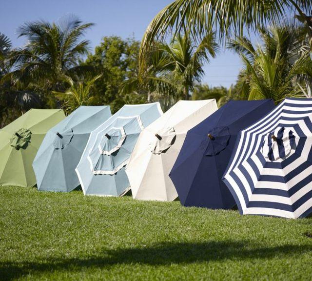22 Ides De Parasols Modernes Pour La Terrasse Le Jardin