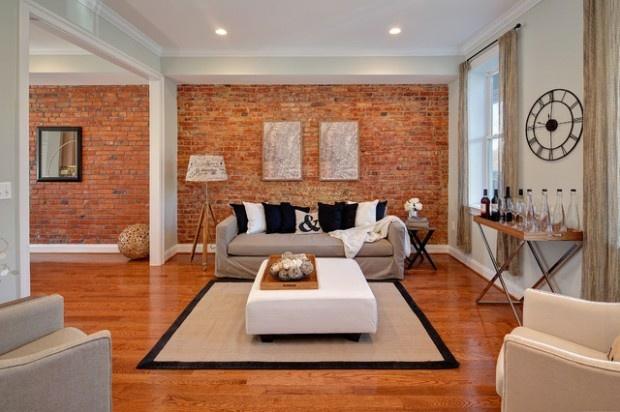 21 ides pour un parement de brique dans la maison