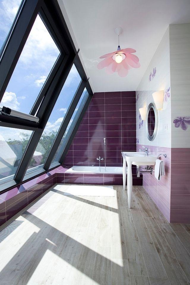 Parquet salle de bains stratifi en 24 photos inspirantes