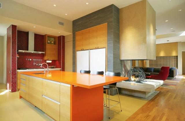 Peinture cuisine  40 ides de choix de couleurs modernes