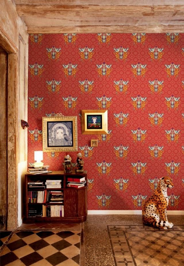 Un papier peint original  Catalina Estradafait parler vos murs