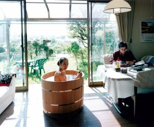 La baignoire Ofuro offre le bien tre et dtende