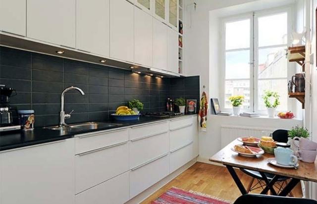Petite cuisine pportez du confort votre espace  25 photos