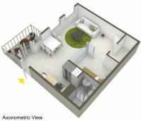 Petit appartement avec intrieur scandinave  Stockholm