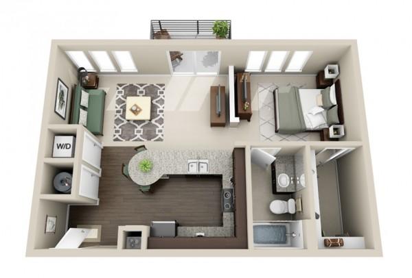 le plan maison d un appartement une