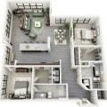 Design d appartement 2 pi 232 ces et plan d int 233 rieur