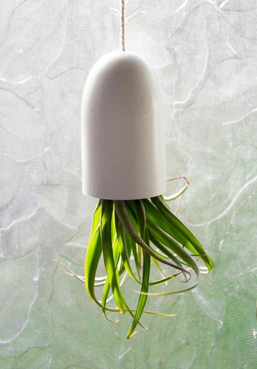 Des pots DIY pour plantes dintrieur suspendues  lenvers
