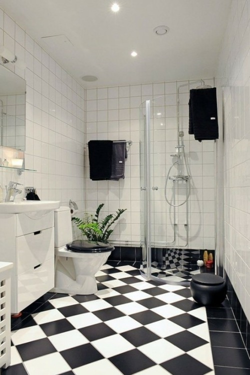 salle de bains masculine