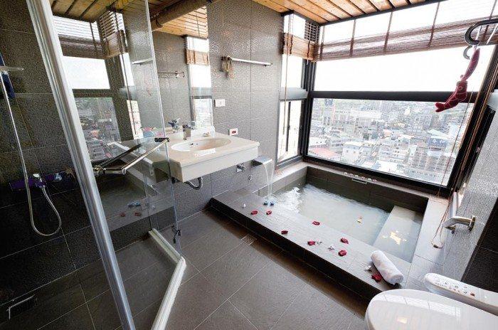 Un spa  la maison salles de bain moderne faon spa
