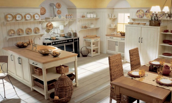 La cuisine de style campagne italienne revisite par Minacciolo