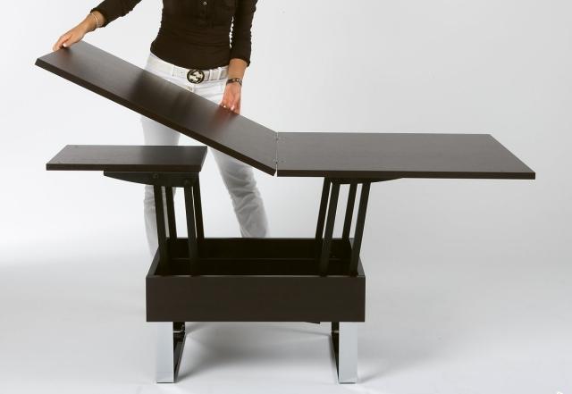 table basse relevable idees sympas