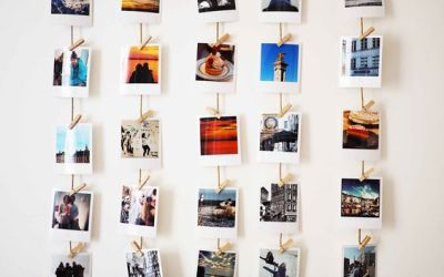 On expose vos vacances: 5 astuces pour un beau mur photos!