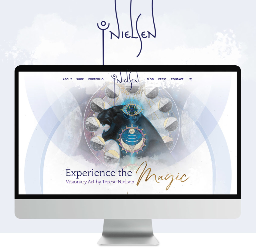 Building a brand for Terese Nielsen, Visionary Artist