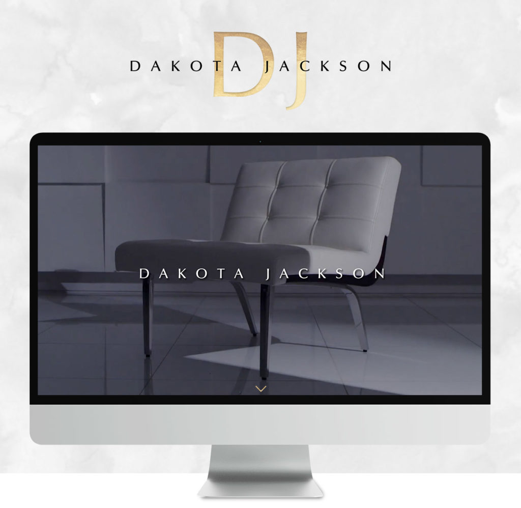 Building a brand for Dakota Jackson, furniture designer