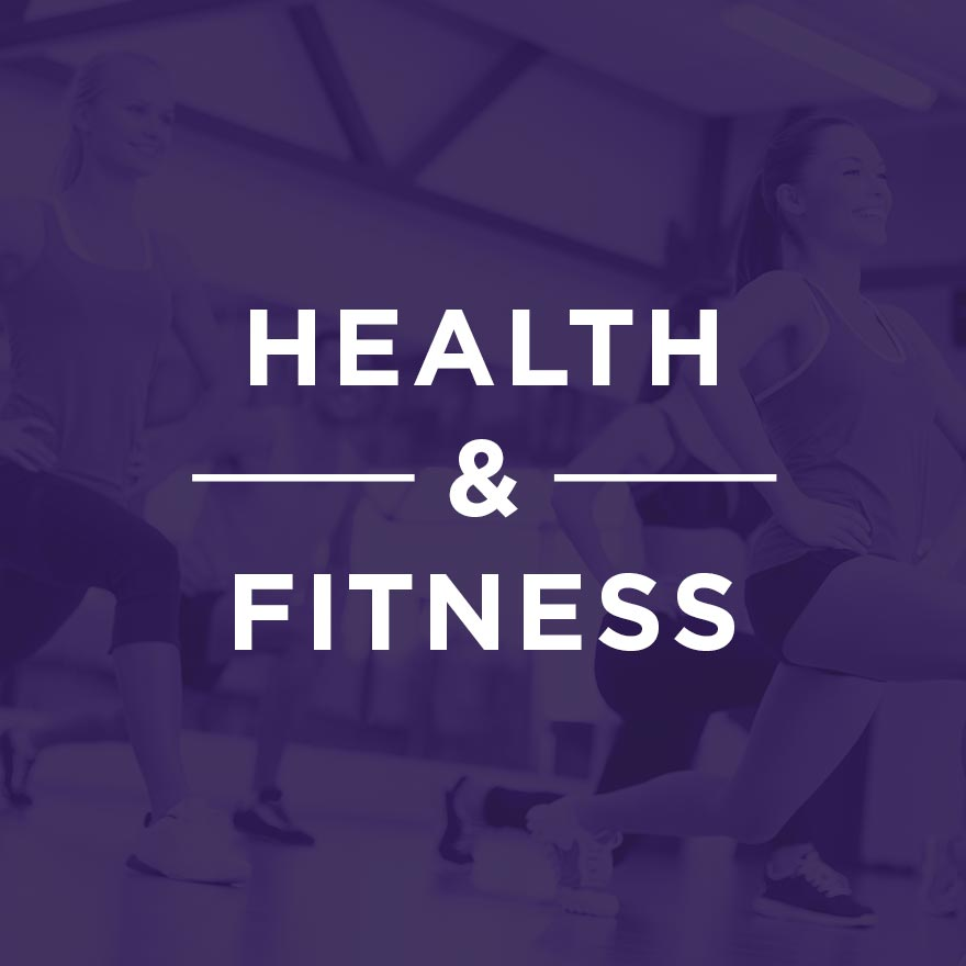 Health & Fitness Website Portfolio