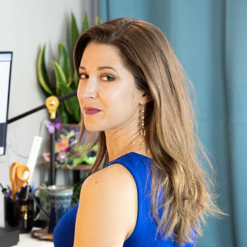 Laura Patricelli loves building a brand and being a website designer for small businesses