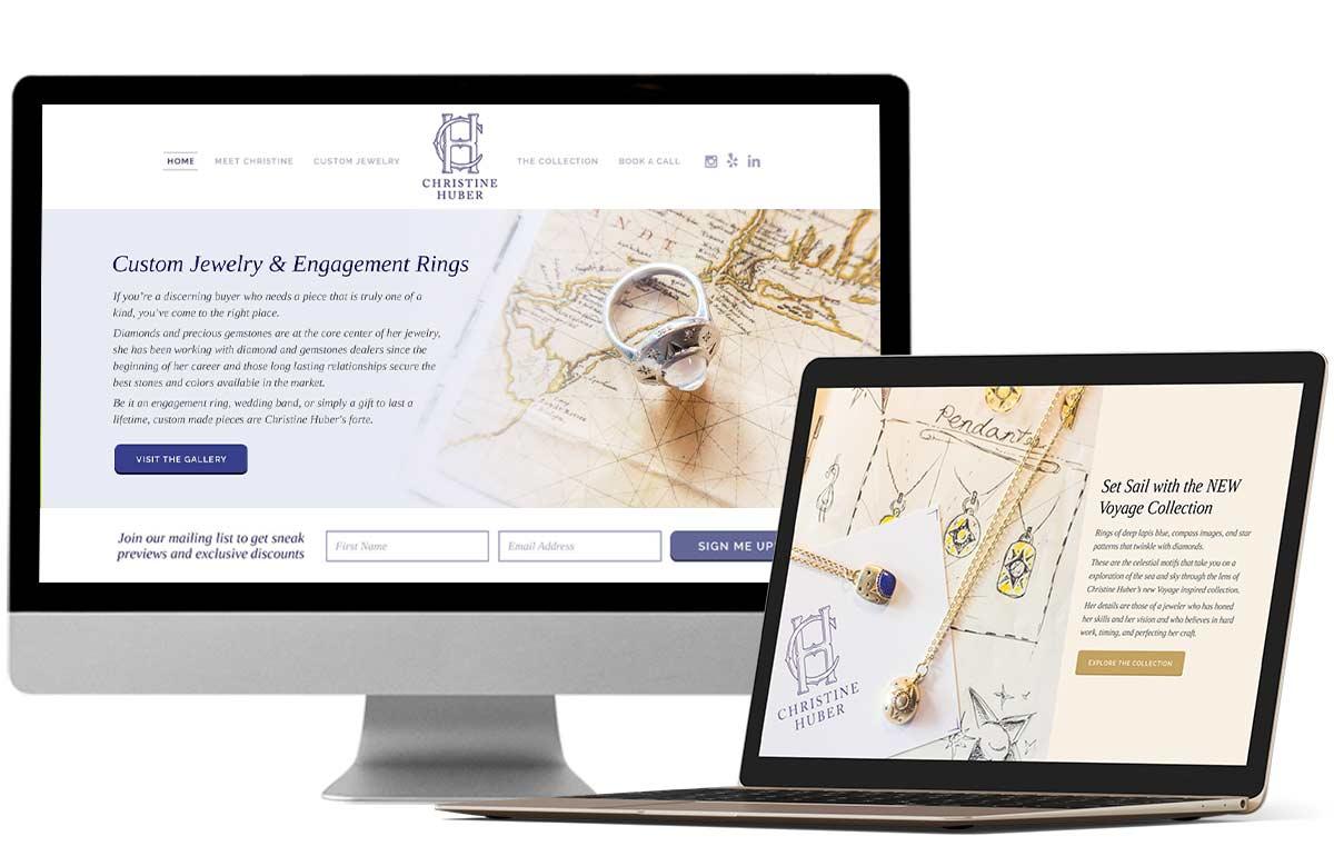 Portfolio Design Mastermind Christine Huber Jewelry