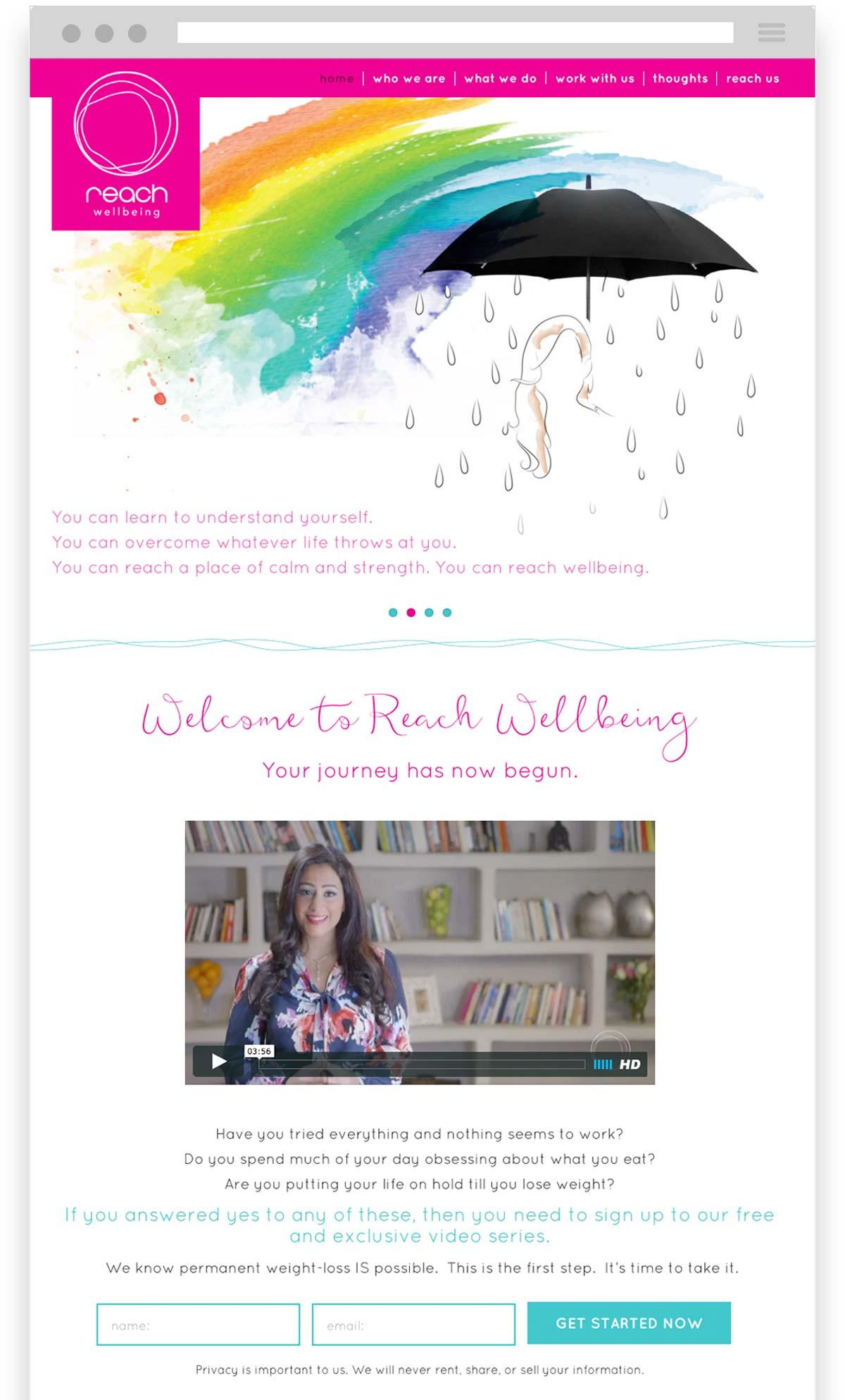 Reach Wellbeing Website