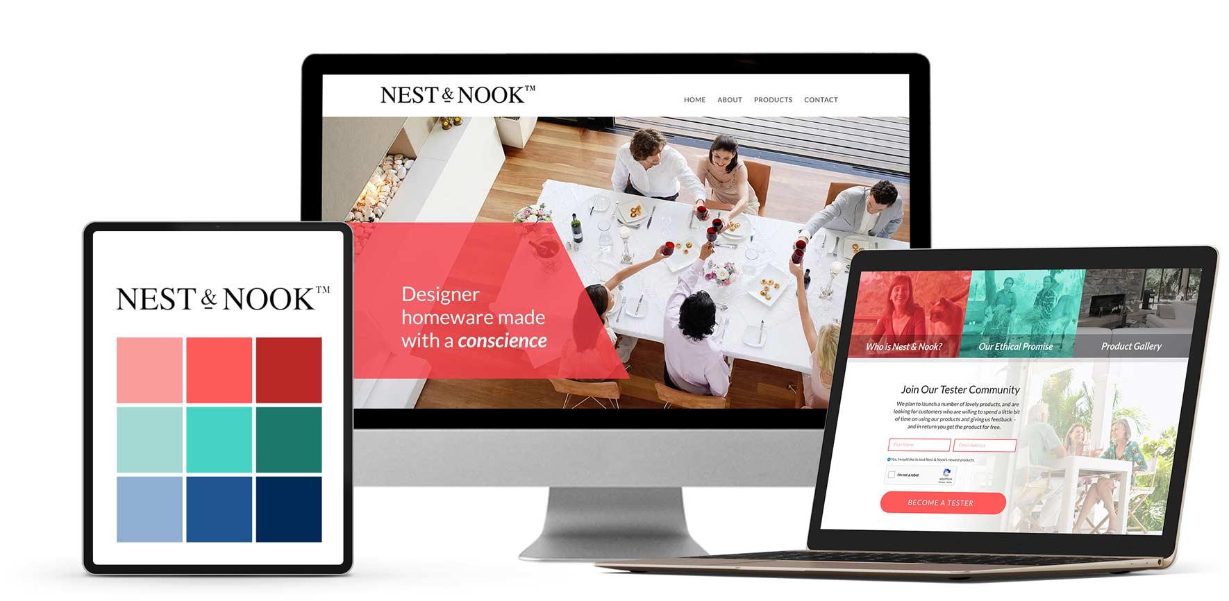 Portfolio Design Mastermind Nest & Nook