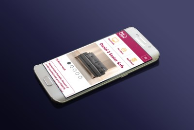 Product Page – Mobile Version