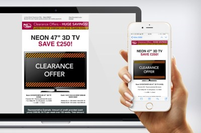 Buy As You View Responsive Email