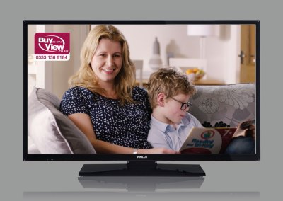 Buy As You View TV Ad