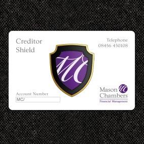 Mason Chambers Creditor Shield Card