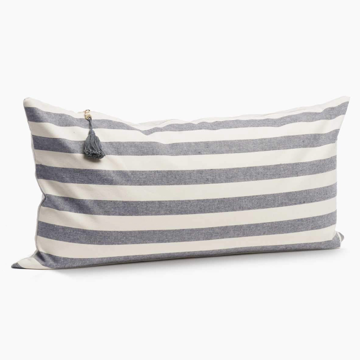 hedgehouse 14 x 26 throw pillow in toulouse wide stripe