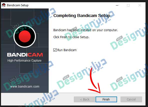 برنامج تسجيل الشاشة الكمبيوتر فيديو وصوت HD عربي تحميل Bandicam