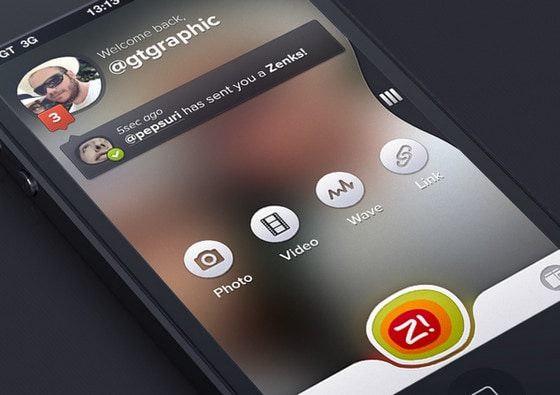 Modern Lock Home Start And Login Screens Used In Mobile Apps