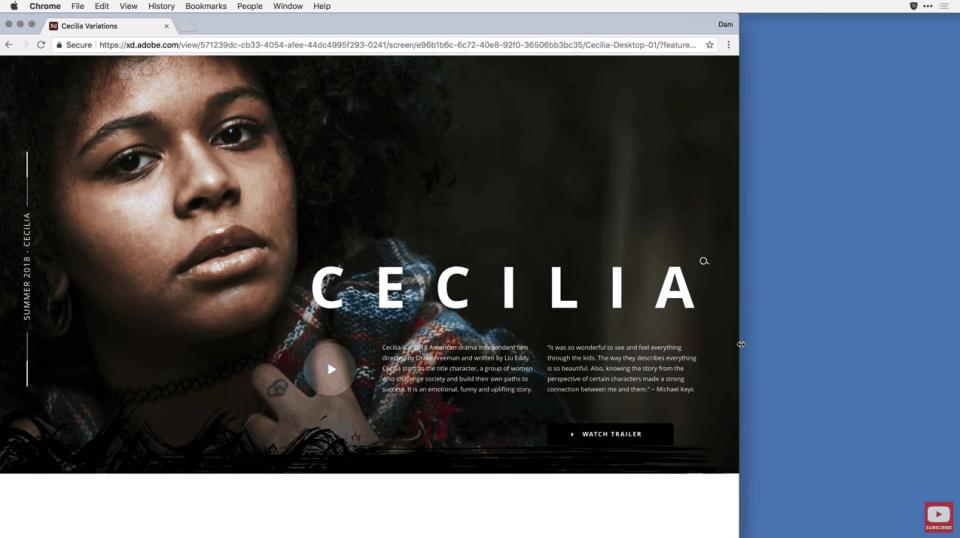 Adobe XD new full screen mode