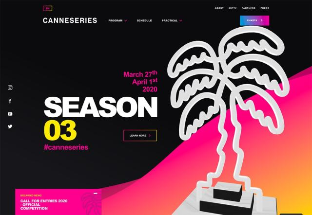 canne - Top Trends for web Design and UI  for 2020
